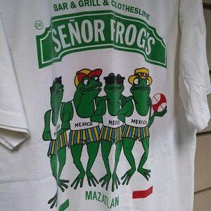 Vintage Senior Frogs T Shirt XL